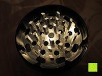 """Mahlfach: DCOU aluminium tabak spice herb mühle / anlage mühle / pollen sammler mit magnetischen cover mit pollen - fänger 4 schichten 2,5 - Zoll """"schwarz"""