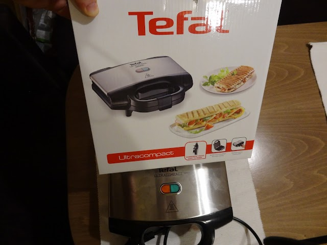 Quick sandwich making tips with the Tefal Ultracompact SM1552