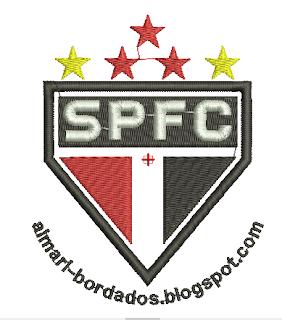 Matriz de Bordado Escudo São Paulo