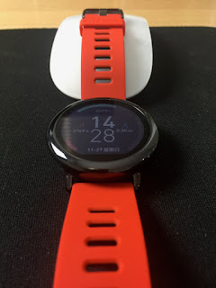 MyVlog Fotos - Original Xiaomi AMAZFIT Bluetooth 4.0 Sports Smart Watch  -  RED WITH BLACK
