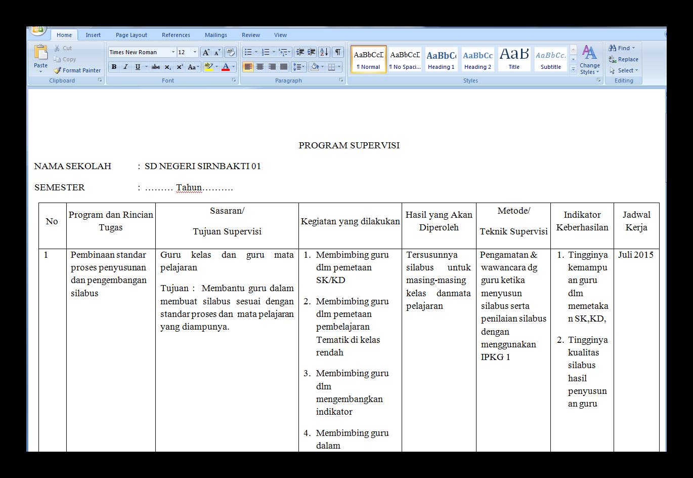 Kumpulan Dokumen Berkas Administrasi Guru Dan Sekolah Lengkap Berani Id