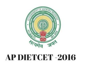 AP DEECET (Diploma in Elementary Education Entrance Exam) 2016 Hall Ticket @ deecetap.cgg.gov.in