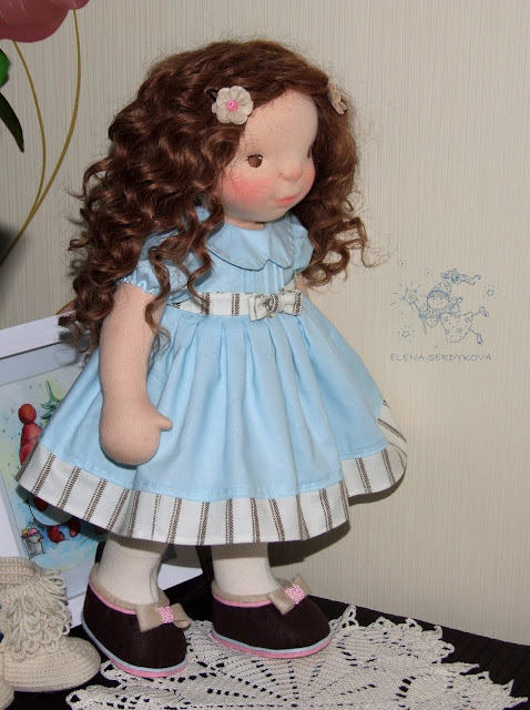 waldorf inspired doll