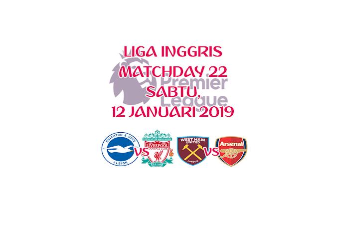 Liga Inggris 12 Januari 2019 Live Streaming