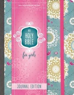 NIV Holy Bible for Girls Journal Editi coveron