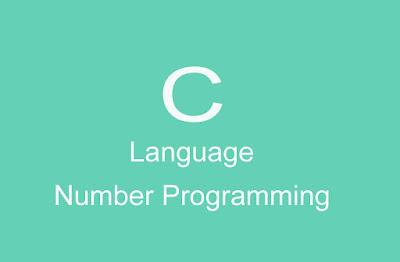 Number Programming C Language