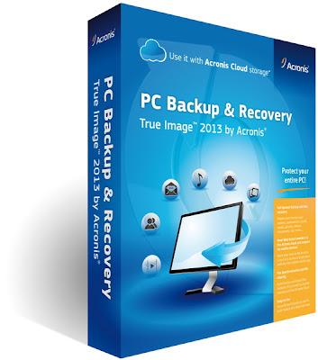 تحميل برنامج اكرونيس Acronis True Image Home 2013 عمل نسخة احتياطية للنظام و الملفات و استعادتهـا بكل سهولة