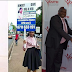 Update: Kenyan lady who was spotted with a placard pleading for employment finally gets a job (Photos)