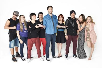 Comandado por Danilo Gentili, programa mostra o convívio de oito youtubers e será exibido ao vivo duas vezes por semana - Divulgação