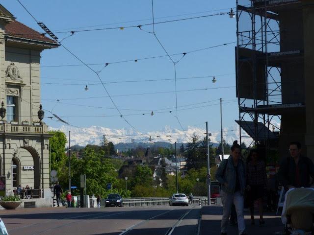 Schweiz Bern Urlaub mit Hund City Innenstadt Sightseeing