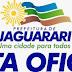 Nota Oficial da Prefeitura de Jaguarari sobre incêndio em serras de Catuni