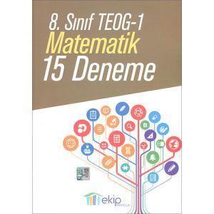 Ekip 8. Sınıf TEOG 1 Matematik 15 Deneme