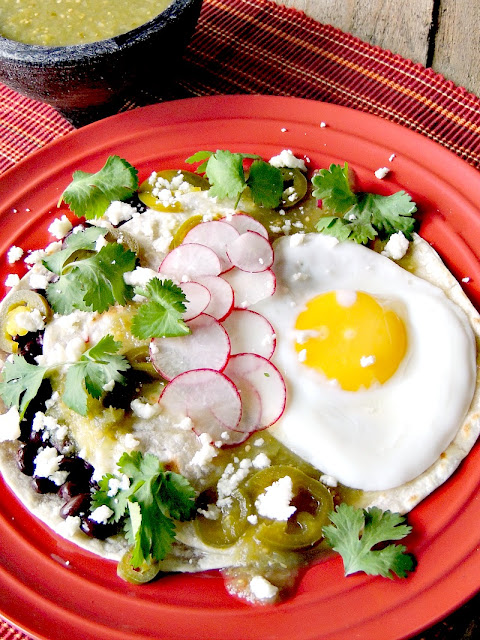 Huevos Rancheros Verdes