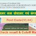 Uttarakhand Group C Computer programmer result 2018