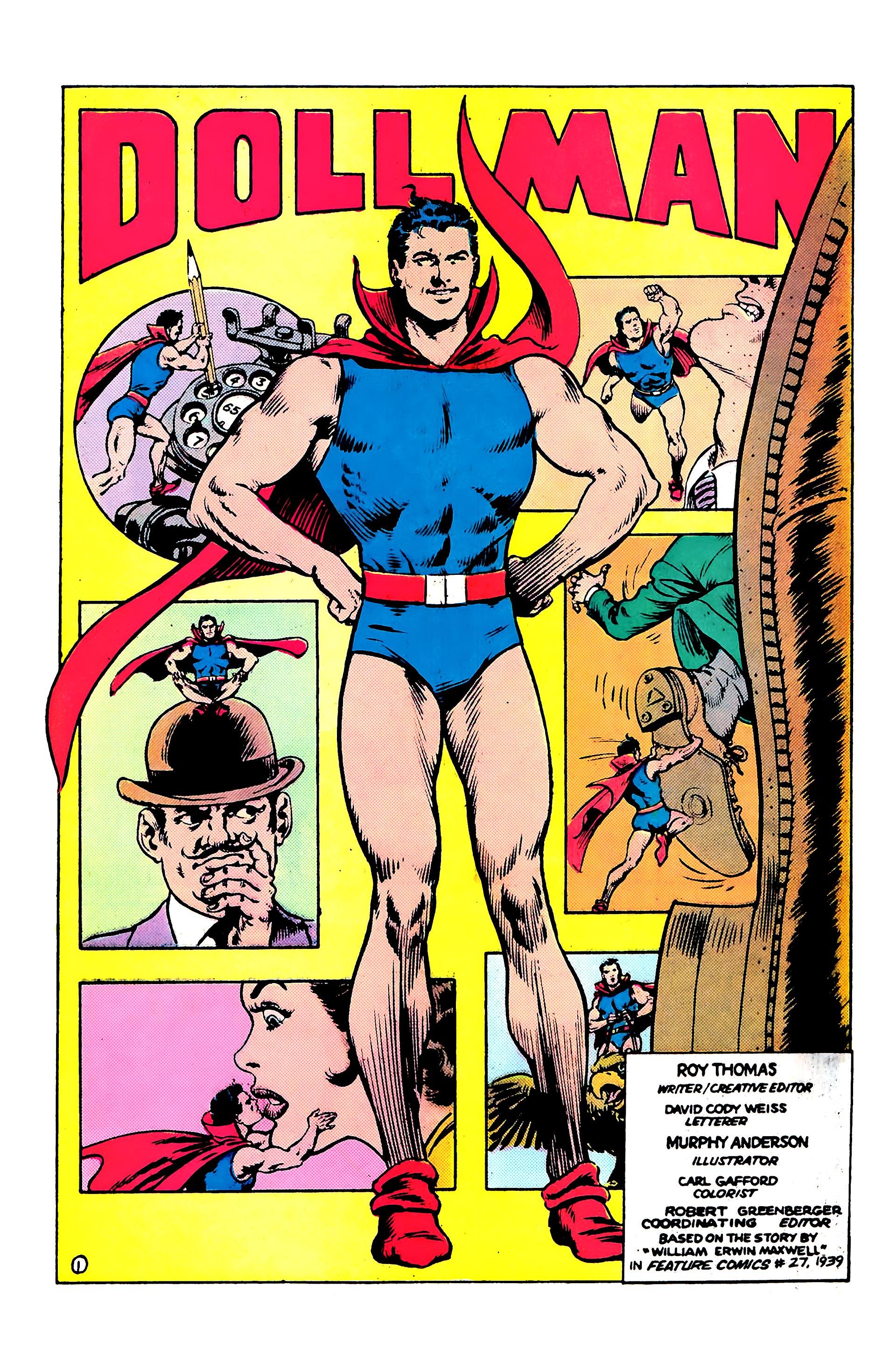 Read online Secret Origins (1986) comic -  Issue #8 - 31