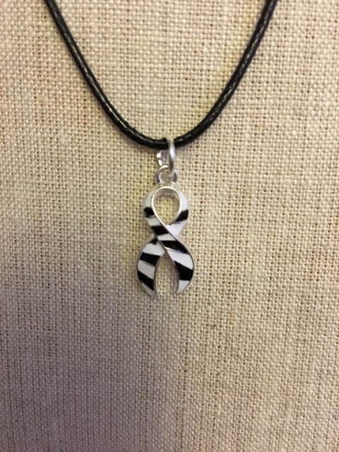 Ehlers Danlos Syndrome EDS Awareness Necklace