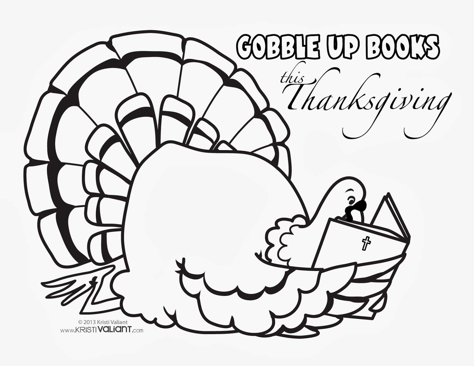 "Kristi Valiant: ""Gobble Up Books this Thanksgiving ..."