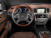 Mercedes-Benz M-Class ML 350 W 166 Interior Special Edition 1