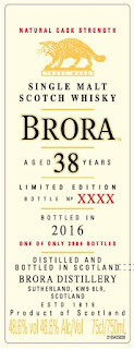 Brora 38 year old Special Releases 2016