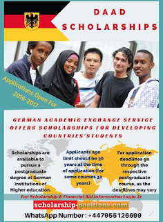 Daad Scholarship For Developing Countries 2015