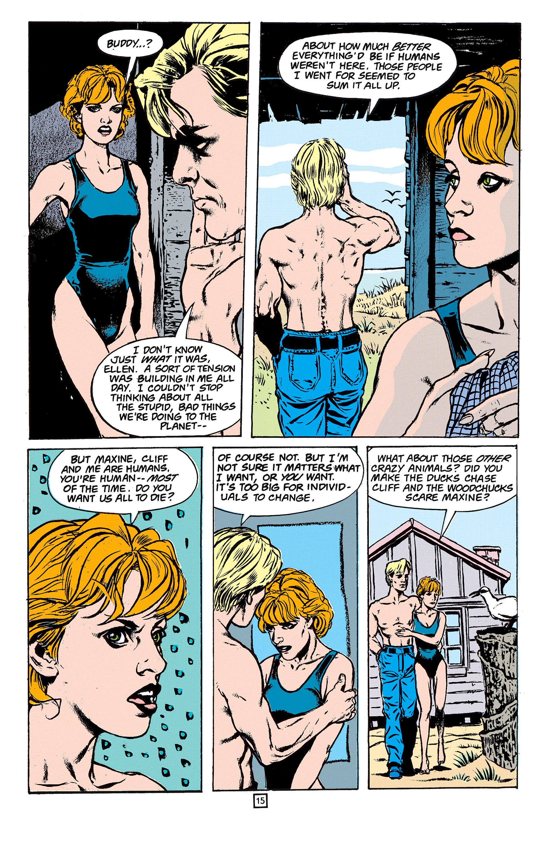 Read online Animal Man (1988) comic -  Issue #61 - 16