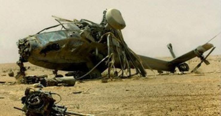 سقوط مروحية بولاية تيبازة ومقتل 3 عسكريين .