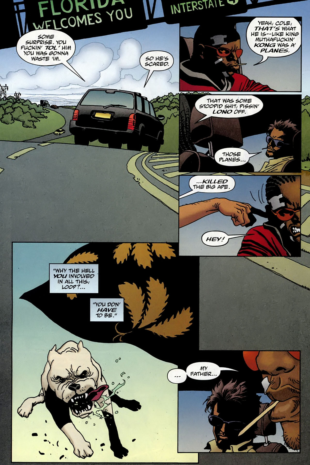 Read online 100 Bullets comic -  Issue #97 - 16