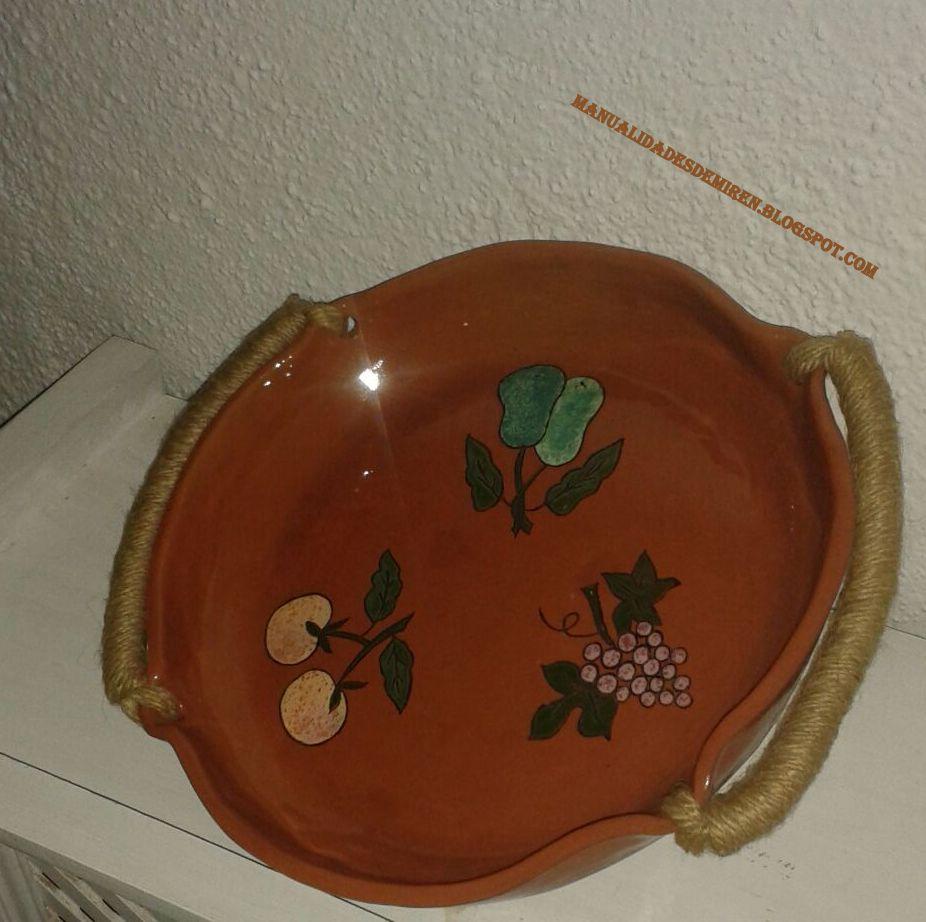 De todo un poco piezas de barro hechas en horno para ceramica for Calcomanias para ceramica horno