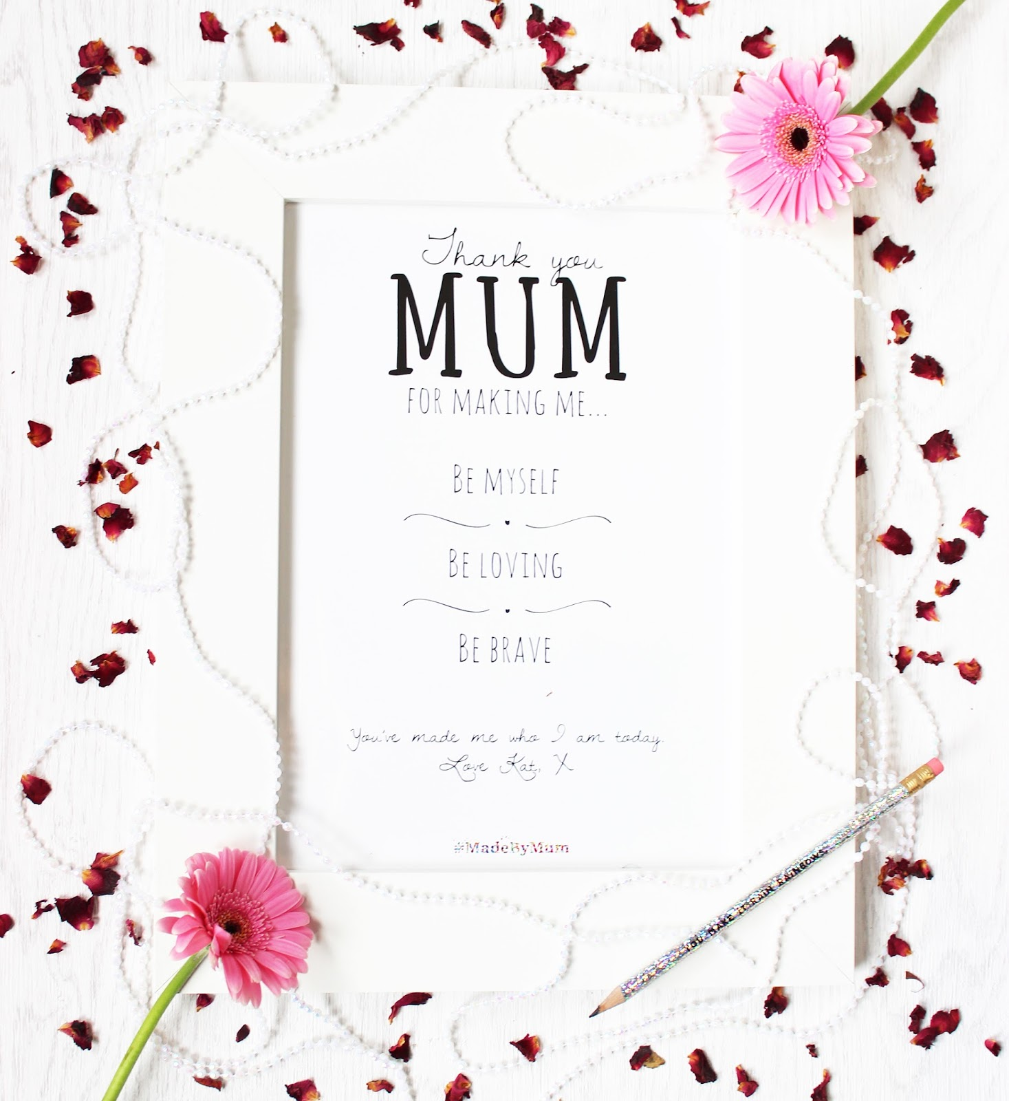 Mother's Day gifting with Getting Personal