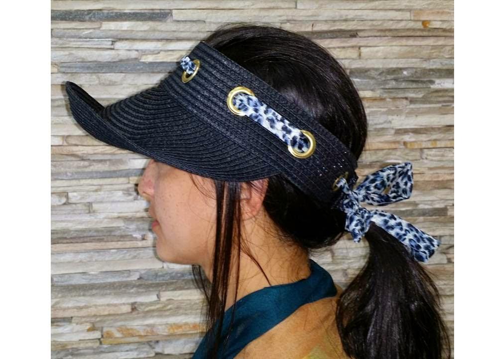 TEOR • acessórios de moda  Viseira ou Chapéu  121c7470155