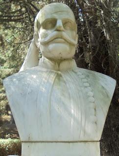 προτομή του Καπετάν Κώττα στο Μουσείο Μακεδονικού Αγώνα του Μπούρινου