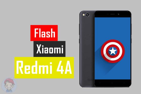 Cara Flashing Xioami Redmi Xiaomi 4A