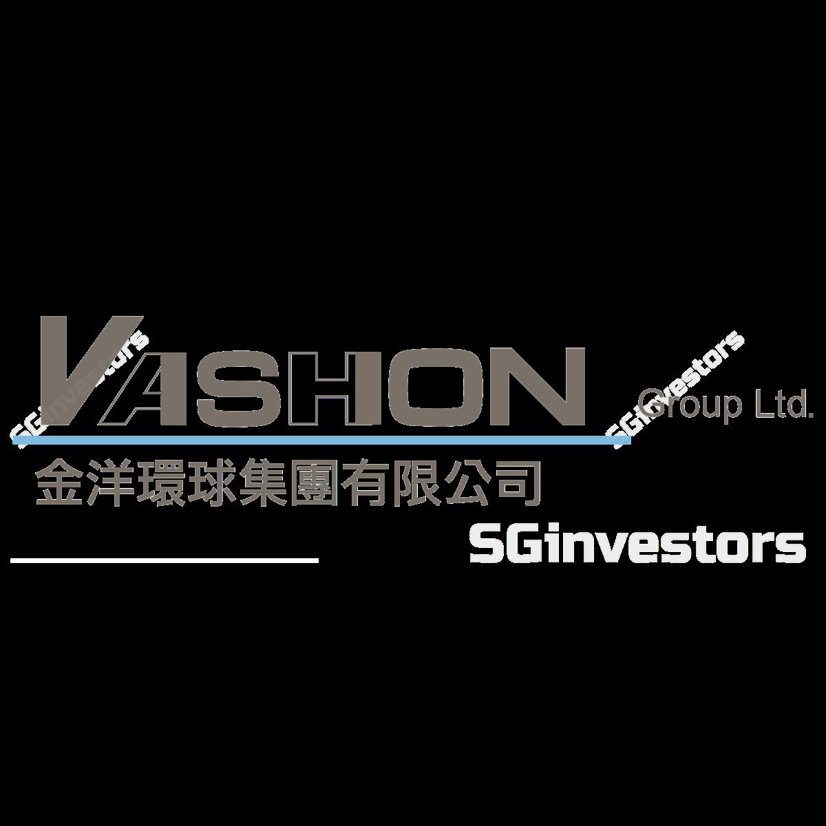VASHION GROUP LTD. (SGX:1F4) @ SGinvestors.io