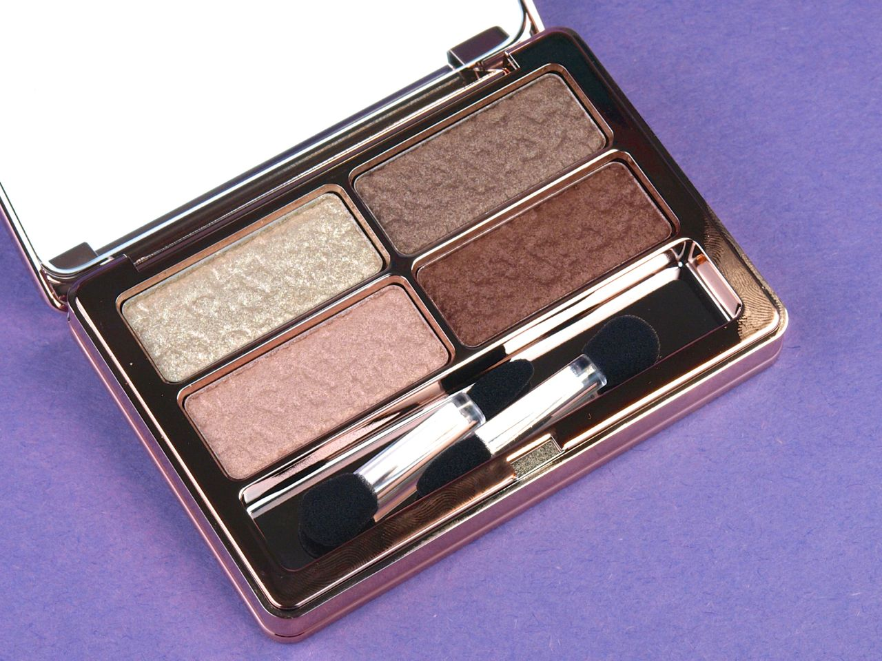 Lise Watier Fall 2014 Quatuor Féline Eyeshadow Quartet Palette Review and Swatches
