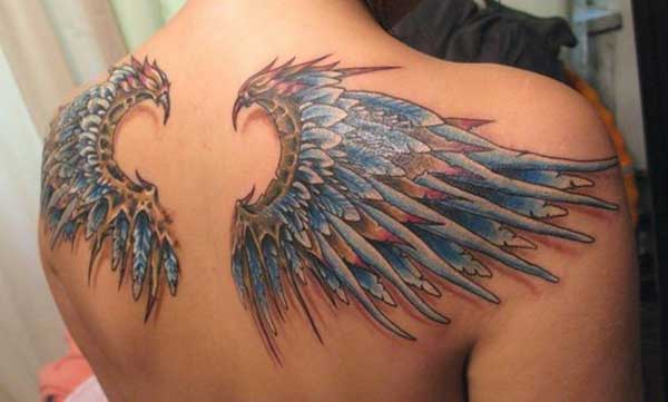 eagle wings tattoo