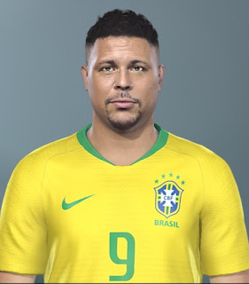 PES 2019 Faces Ronaldo by Jo7 Facemaker
