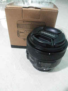 Jual Lensa YONGNUO 35 mm F2 For NIKON