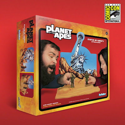San Diego Comic-Con 2018 Exclusive Planet of the Apes Statue of Liberty ReAction Figure Playset by Super7