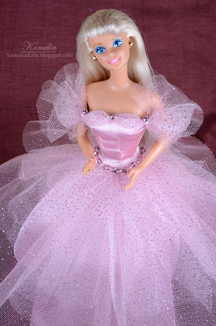 Anniversary pink dress for Superstar Barbie doll