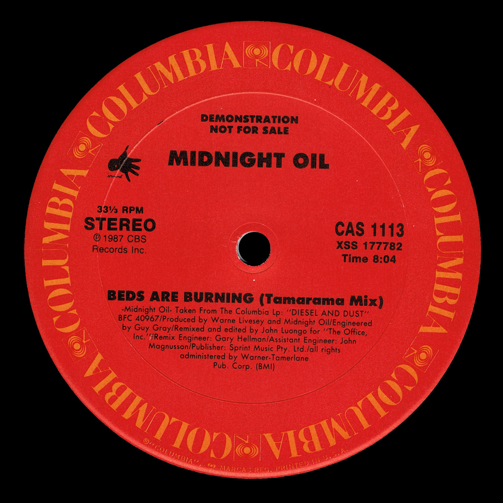 Missing Hits 7 Midnight Oil Beds Are Burning