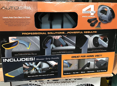 You'll need the Autospa Auto-Vac Bagless Vacuum for your car if you have kids