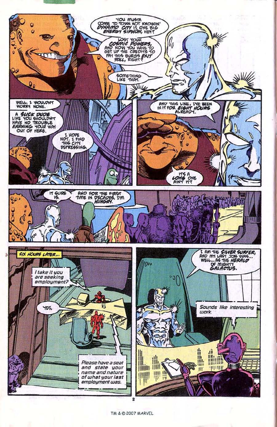 Read online Silver Surfer (1987) comic -  Issue #41 - 4
