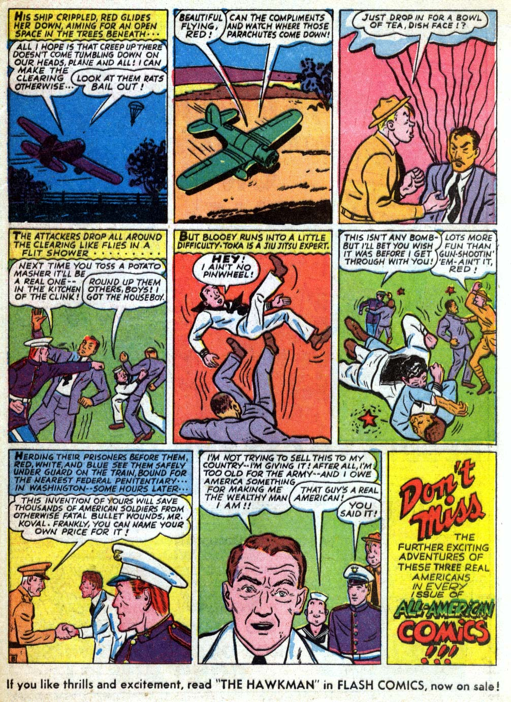 Read online All-American Comics (1939) comic -  Issue #26 - 63
