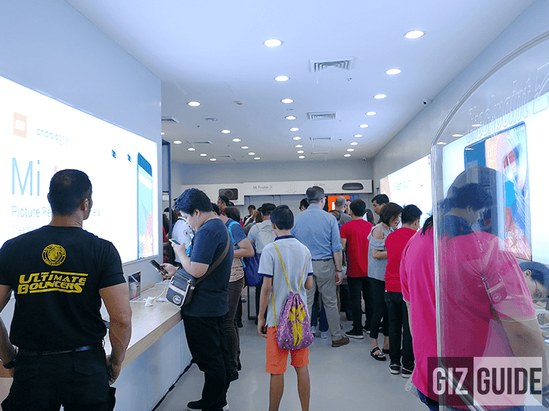 The first Mi Store in the Philippines