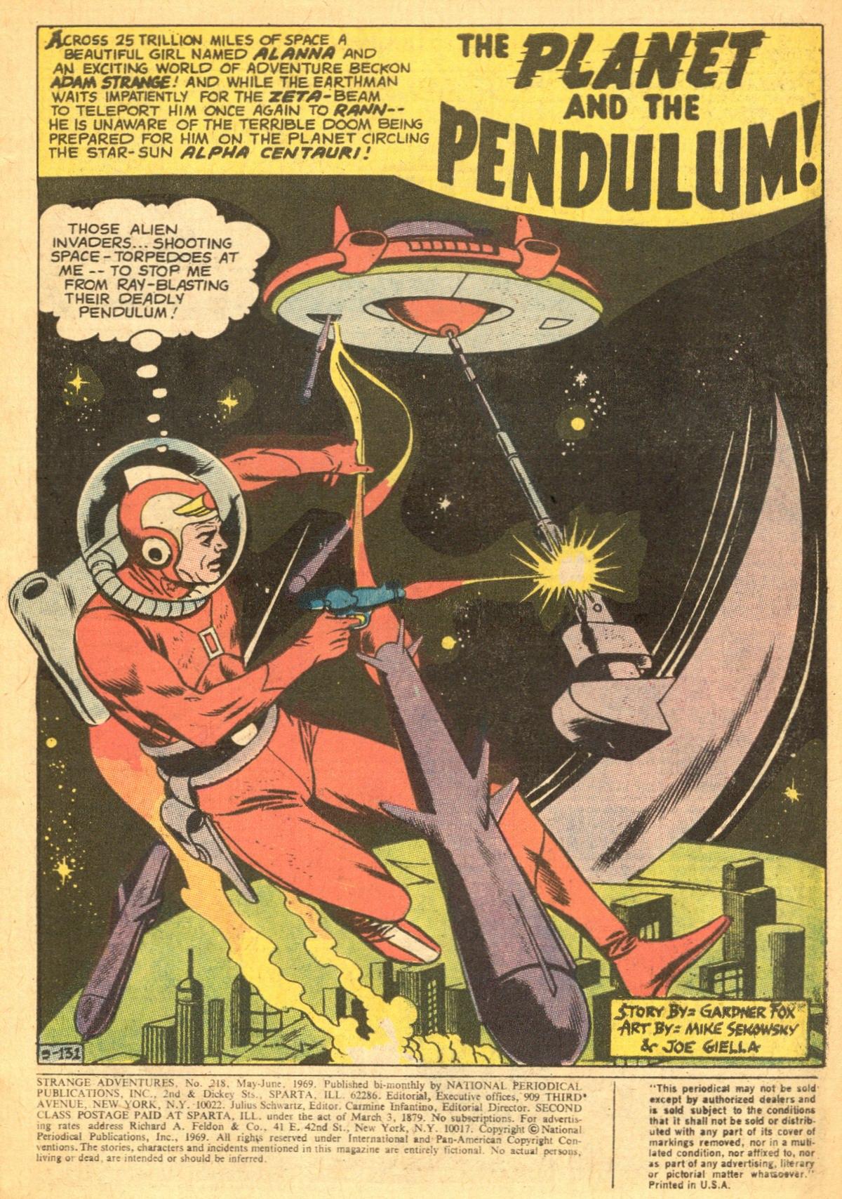 Strange Adventures (1950) issue 218 - Page 3
