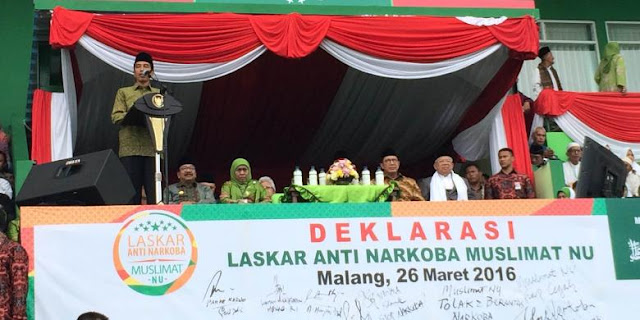 Presiden Jokowi: Mana Berani Saya Tidak Hadir untuk NU