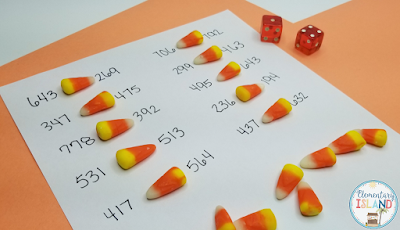 These halloween / fall school activities will have your students engaged and having fun all season!  I have you covered for teaching just about every content area!  Candy corn, a free printable, and a few ideas are all you need to get through this season!  #elementaryisland #halloween #free