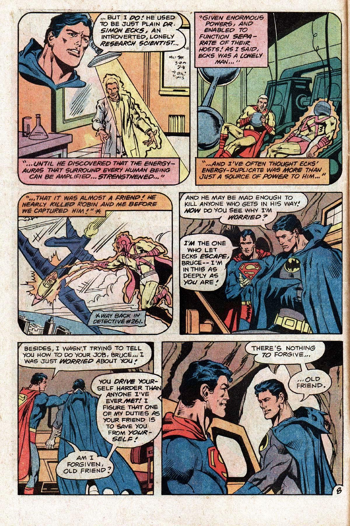 Read online World's Finest Comics comic -  Issue #276 - 10