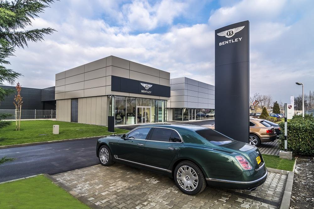 Bentley opens first showroom in Hungary