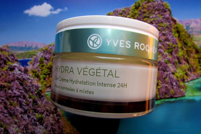 Yves Rocher Hydra Vegetal - żel/krem intensywnie nawilżający